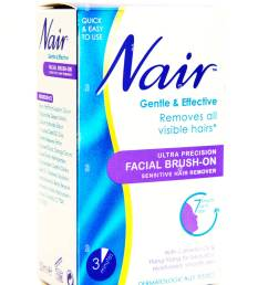 nair hair removal facial hairs cream remover logo box product cutout white background copy space isolated [ 866 x 1390 Pixel ]