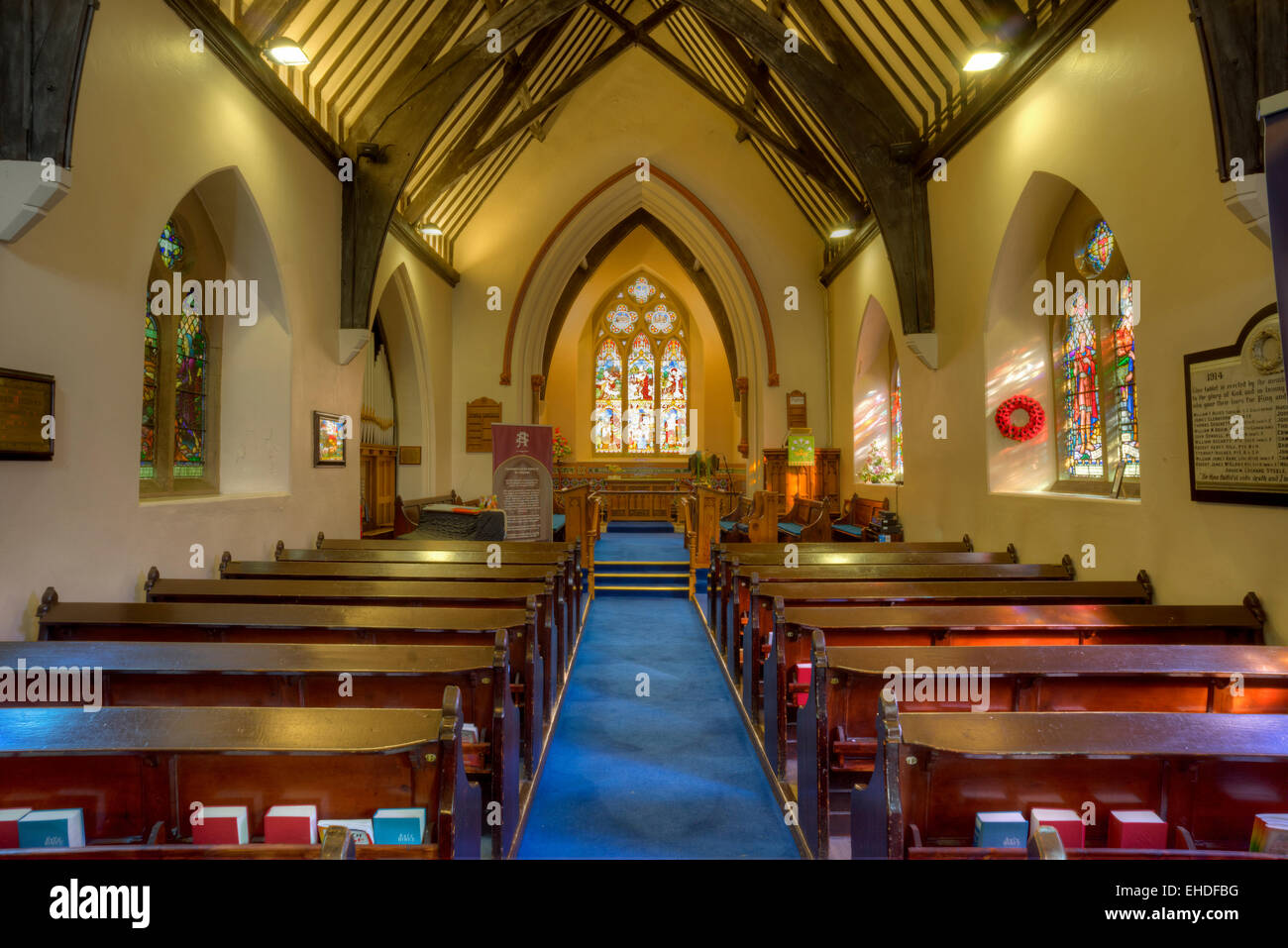 Inside Of St Augustine S Church Church Of Ireland