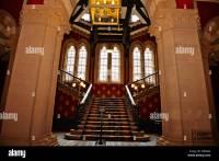 Renaissance Hotel,Lobby,Interior original grand staircase ...