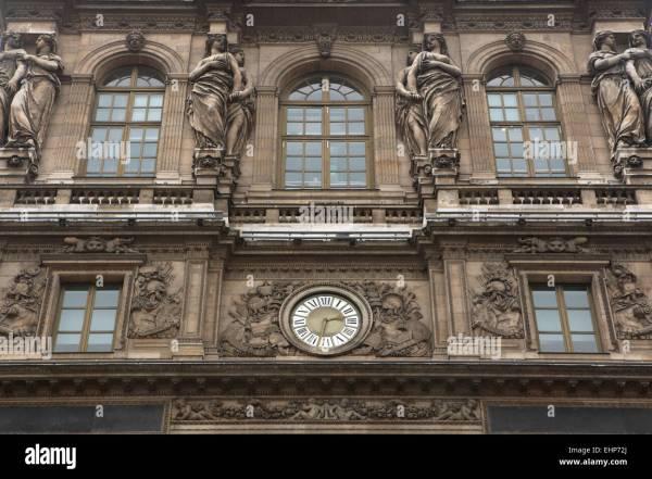 Louvre Exhibit Stock &