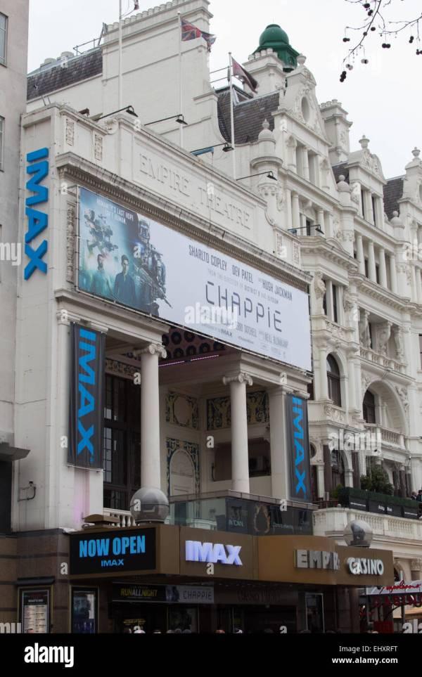 Empire Cinema Leicester Square Stock & - Alamy