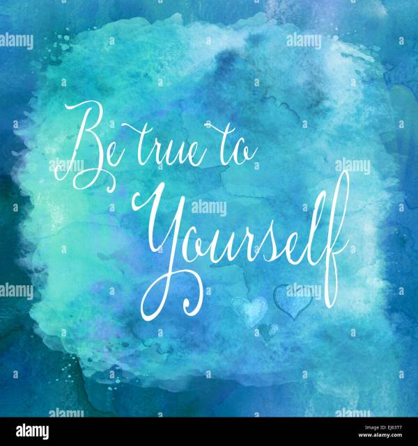 Blue Watercolor Motivational Quotes