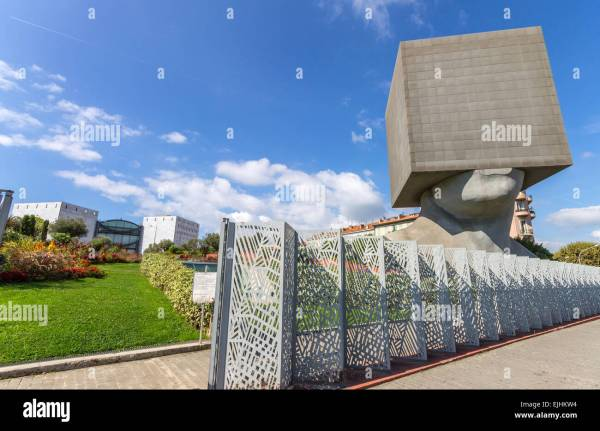 France Cote 'azur Nice Modern Art Museum And Louis Nucra Library Stock Royalty Free