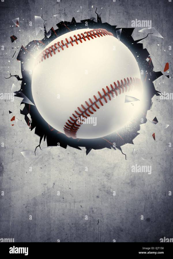 Abstract Baseball Sport Invitation Poster Flyer