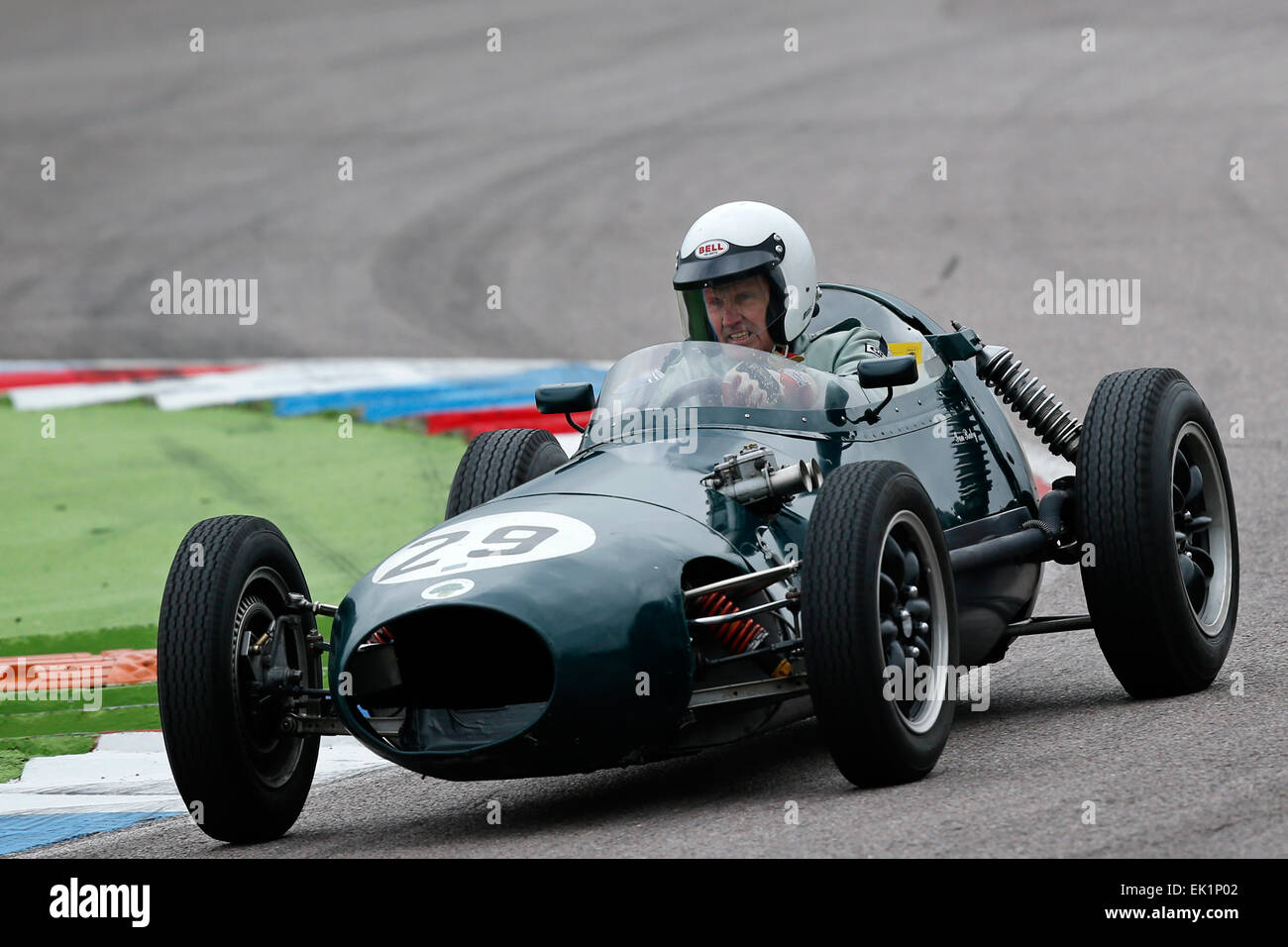 Classic Racing Cars Are Seen During The Historic Motor