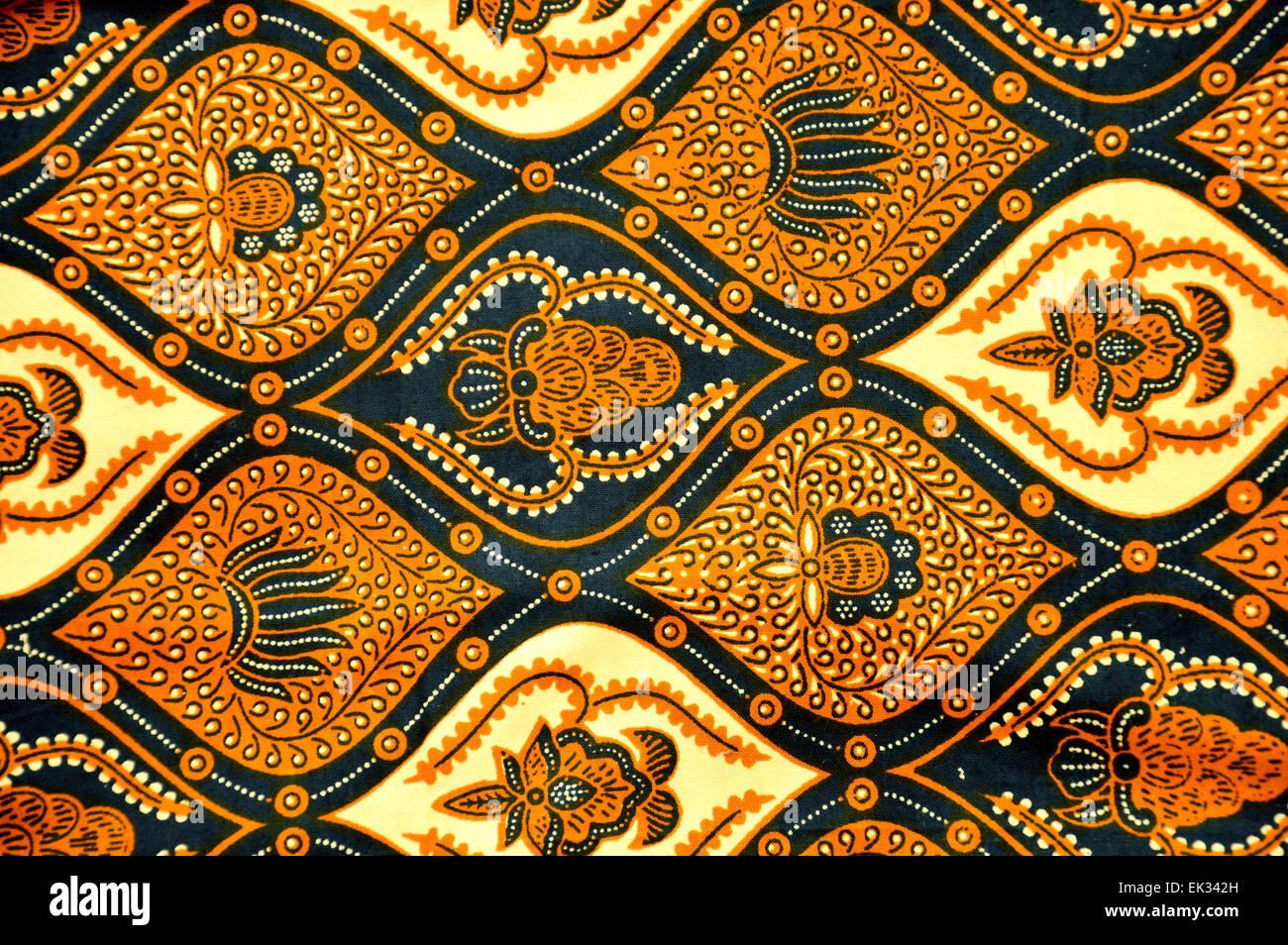 Indonesian Batik Patterns Stock Photos  Indonesian Batik