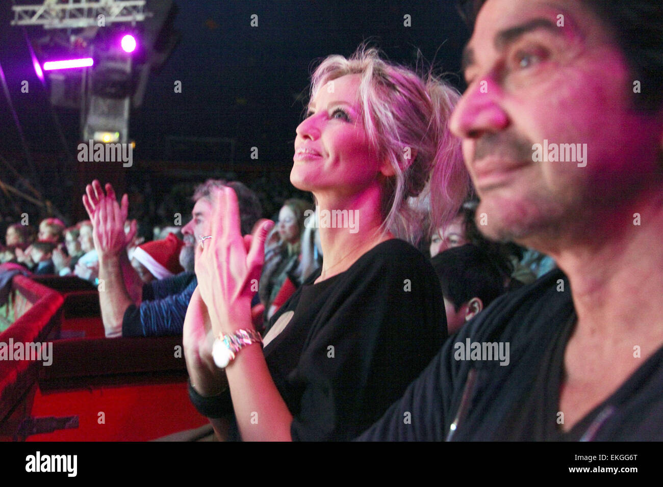 02.DECEMBER.2011. PARIS ADRIANA KAREMBEU AND ANDRE OHANIAN ATTEND