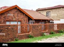 Old Brick Houses in South Africa