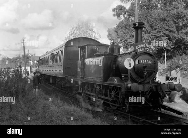 Original Vintage British Railways Steam Stock