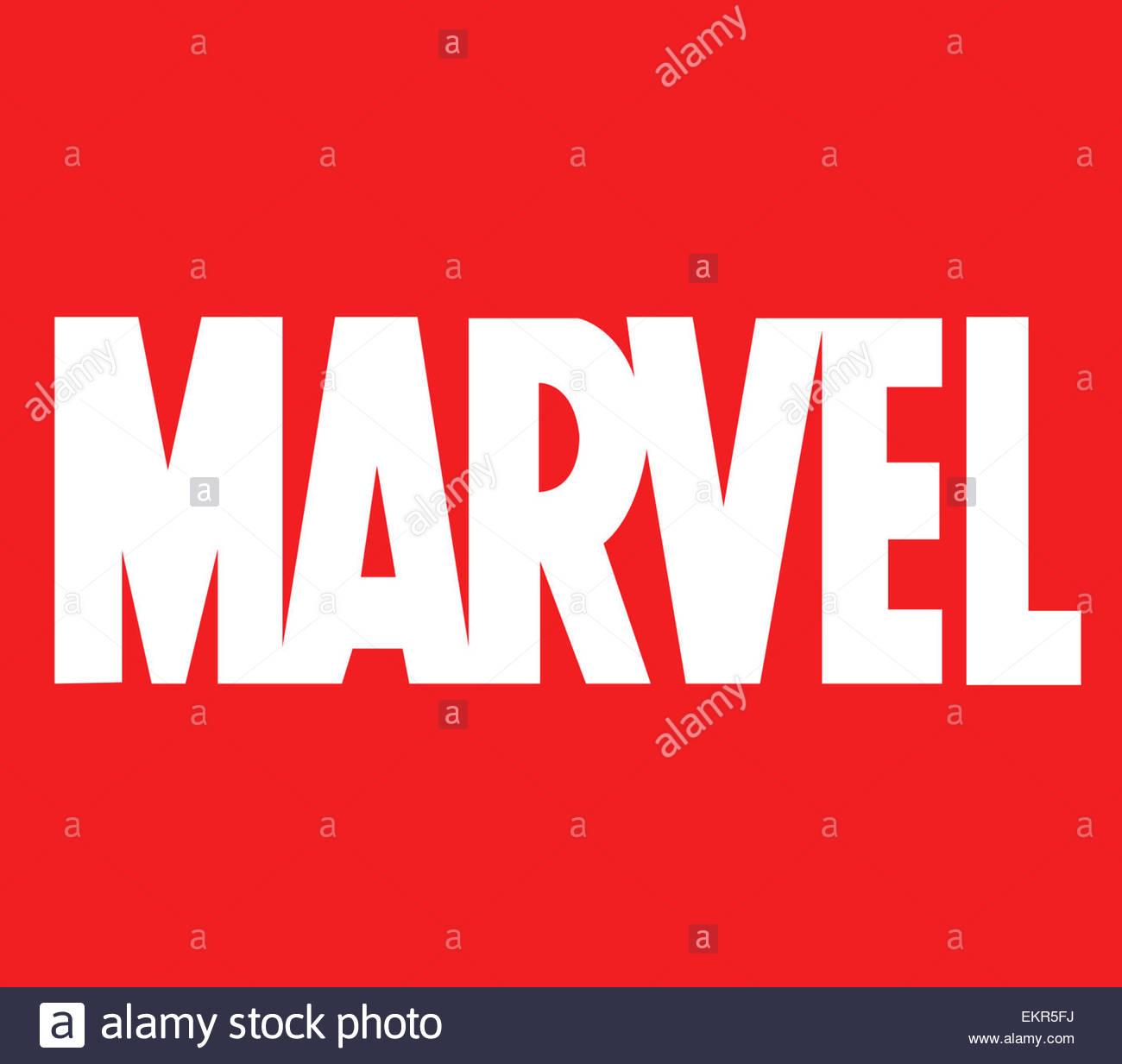Marvel Logo Icon Symbol Stock Photo 81029190 Alamy