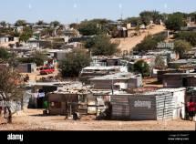 Shacks Shantytown Township Katutura Windhoek Namibia