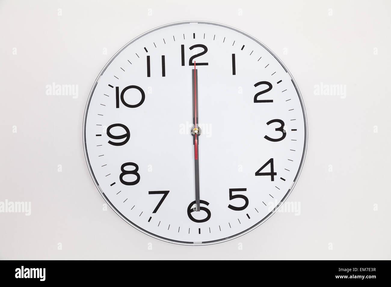 Clock 12 30 Stock Photos Amp Clock 12 30 Stock Images