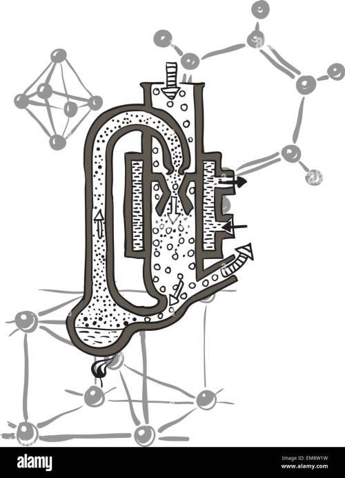 small resolution of vector drawing scheme of mercury vacuum pump