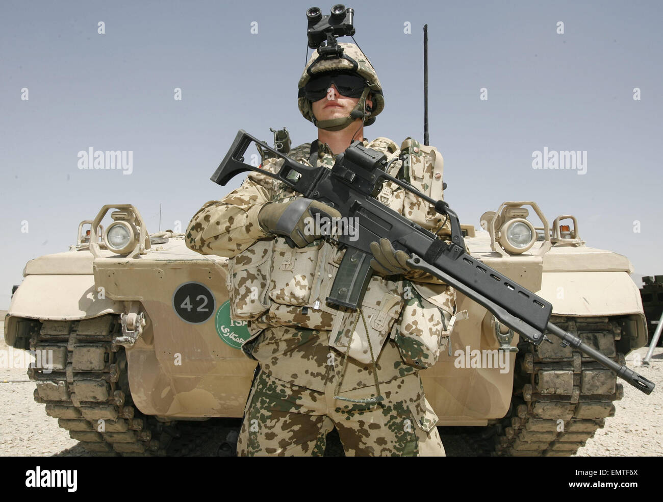 Mazar I Sharif Army Base Afghanistan