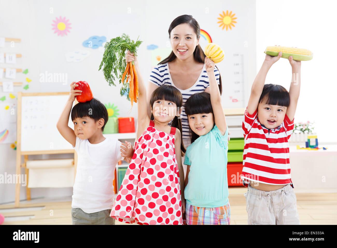 Kindergarten Classroom Kids Stock Photos Amp Kindergarten Classroom Kids Stock Images