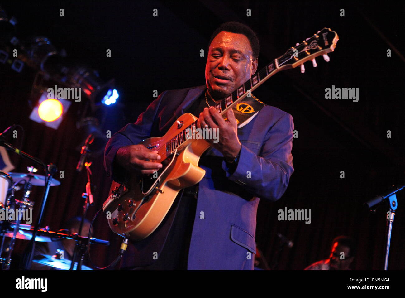 Jazz Legend George Benson Performs At B B King Blues Club Amp Grill Stock Photo