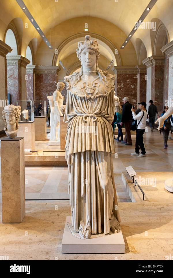 Greek Sculptures And Ancient Art Artwork. Mus Du