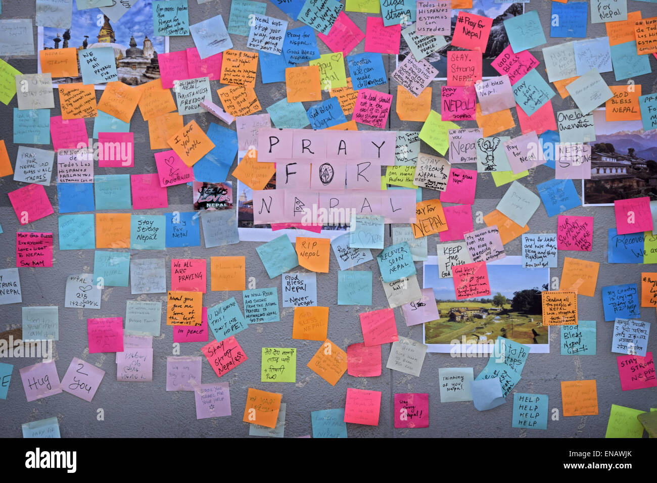 post it notes of