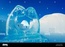 Ice Sculpture Hotel Kiruna Lapland Arctic Circle