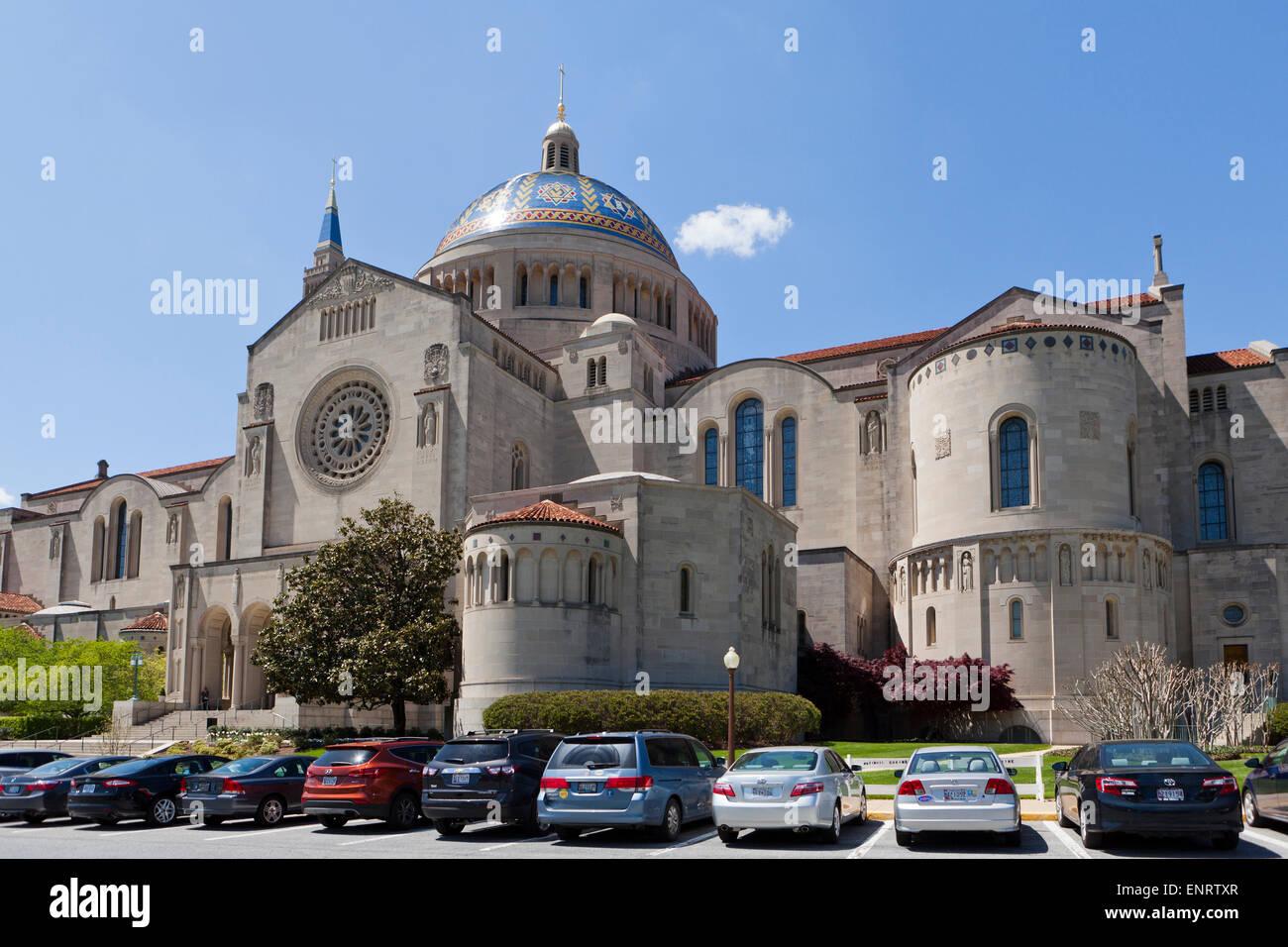 The national Shrine on Catholic University of America