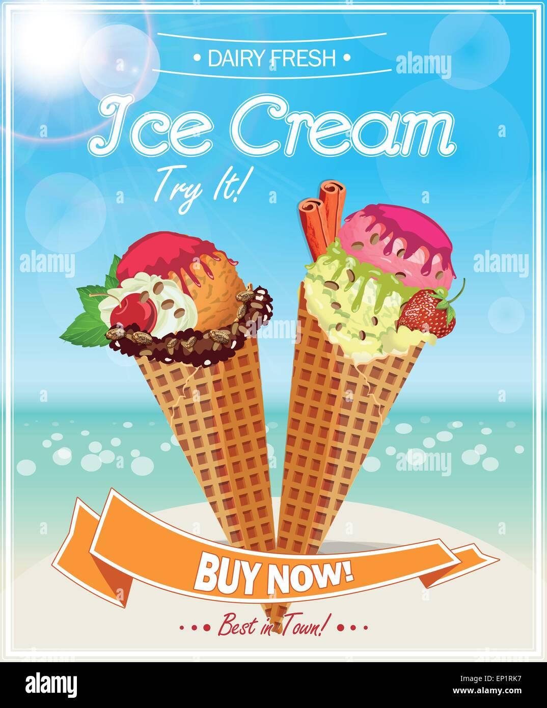 https www alamy com stock photo ice cream poster 82404427 html