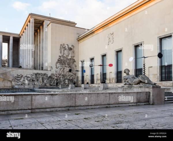 La Musee d'Art Moderne De Paris