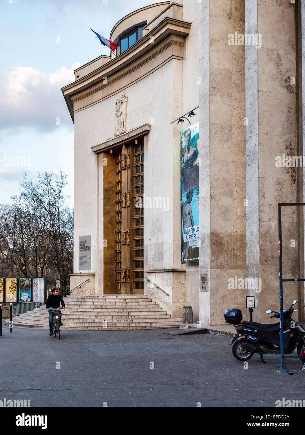 Expositions au Musée d'art moderne de la ville de Paris