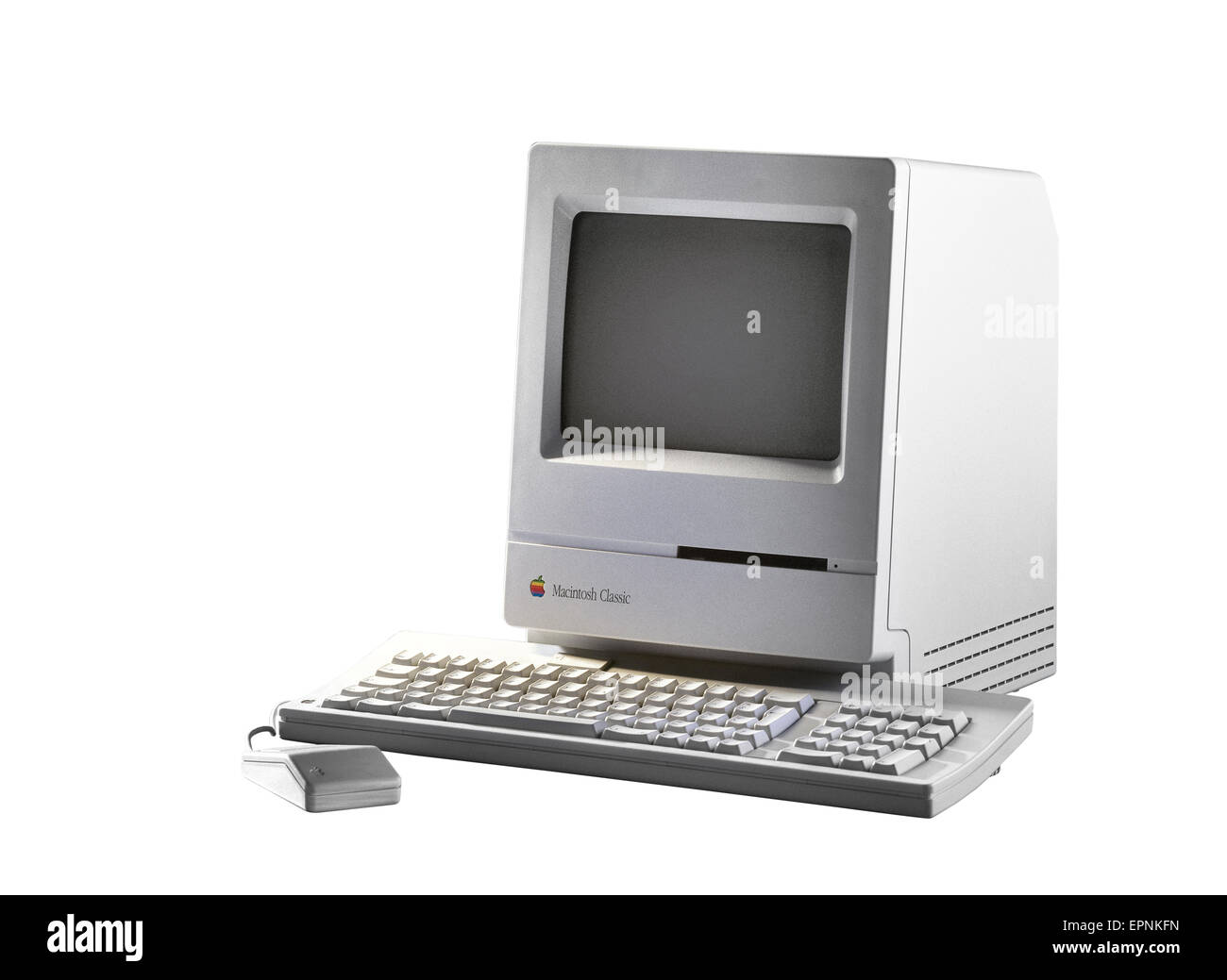 old fashioned computer and