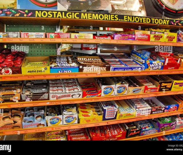 Candy Aisle In Dicks 5 10 Store In Branson Missouri