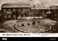 Axminster Carpet Factory, Wilton, near Salisbury ...