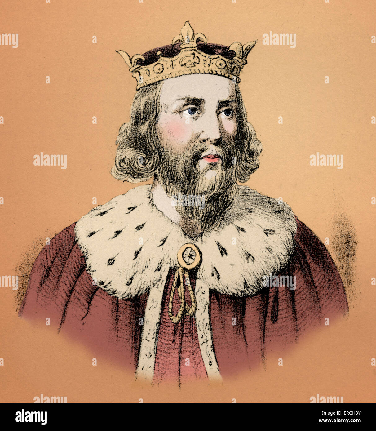 Alfred The Great 849 899 Was King Of The Southern