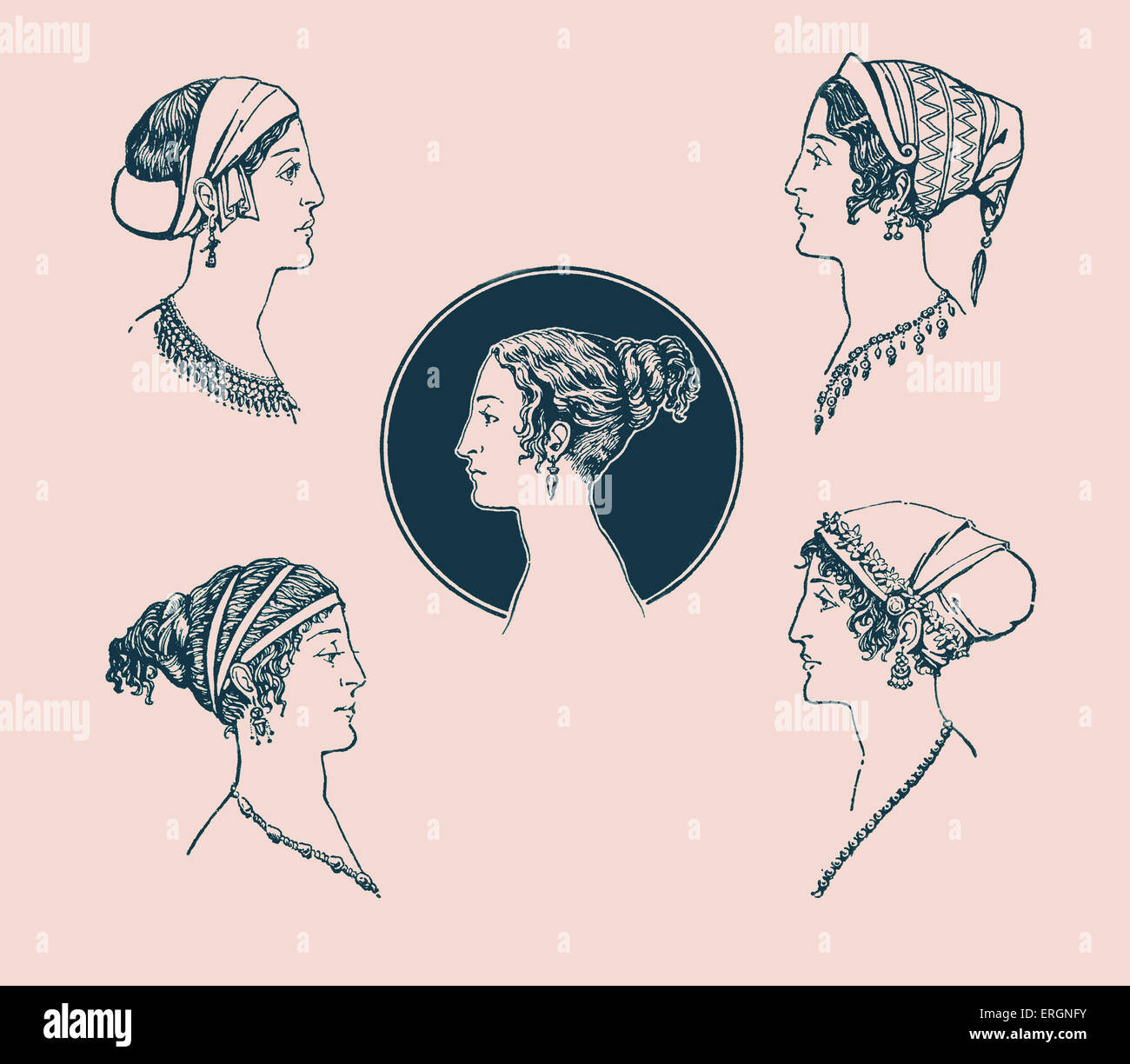 Ancient Greek Hairstyles Example Of Ancient Greek Female