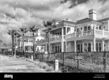 Hotel Del Black And White Stock & - Alamy