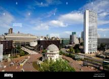 Demolition Birmingham Regeneration City Stock