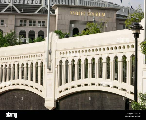 Yankees Stadium Facade Moulding Macombs Dam Park