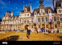 Paris France City Hall