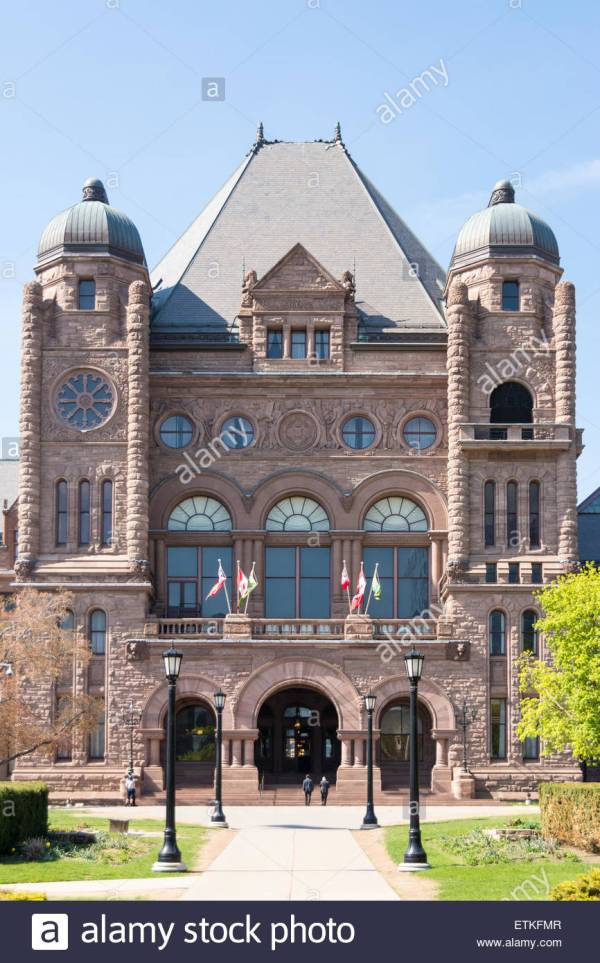 Ontario Legislative Building Stock &