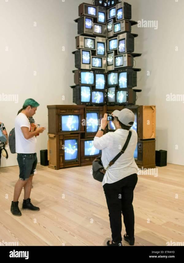 Whitney Museum Interior Stock &