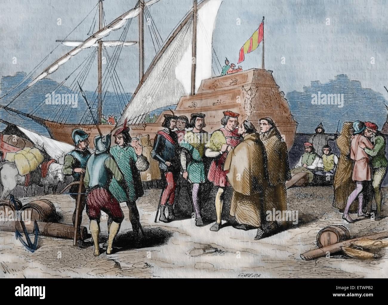 Christopher Columbus Explorer Discoverer Of