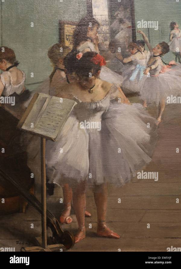 Edgar Degas 1834-1917 . French Painter. Dance Class