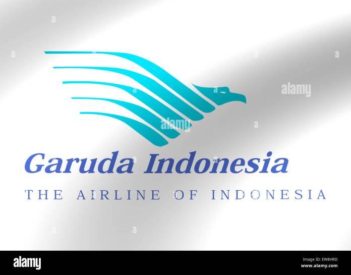 Garuda Indonesia Airlines Logo Icon Flag Emblem Sign Symbol Stock Photo Alamy