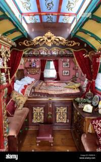 Gypsy caravan interior Stock Photo, Royalty Free Image ...