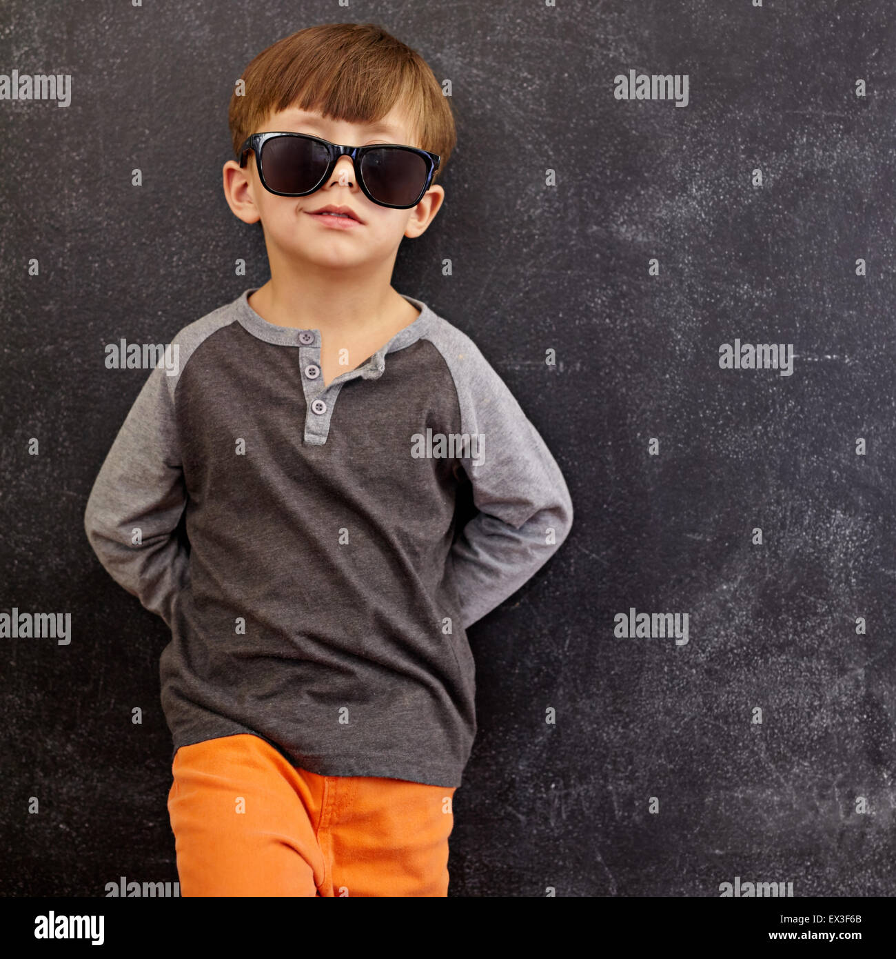 cool kid stock photos