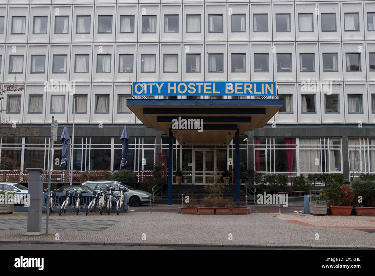 City Hostel Berlin Germany Stock Photo 84947671 Alamy