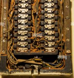 old fuse box stock photos old fuse box stock images alamy an old fuse box [ 866 x 1390 Pixel ]
