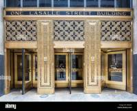 entrance doors, The One North LaSalle Building or One ...
