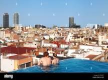 Couple Hotel Pool