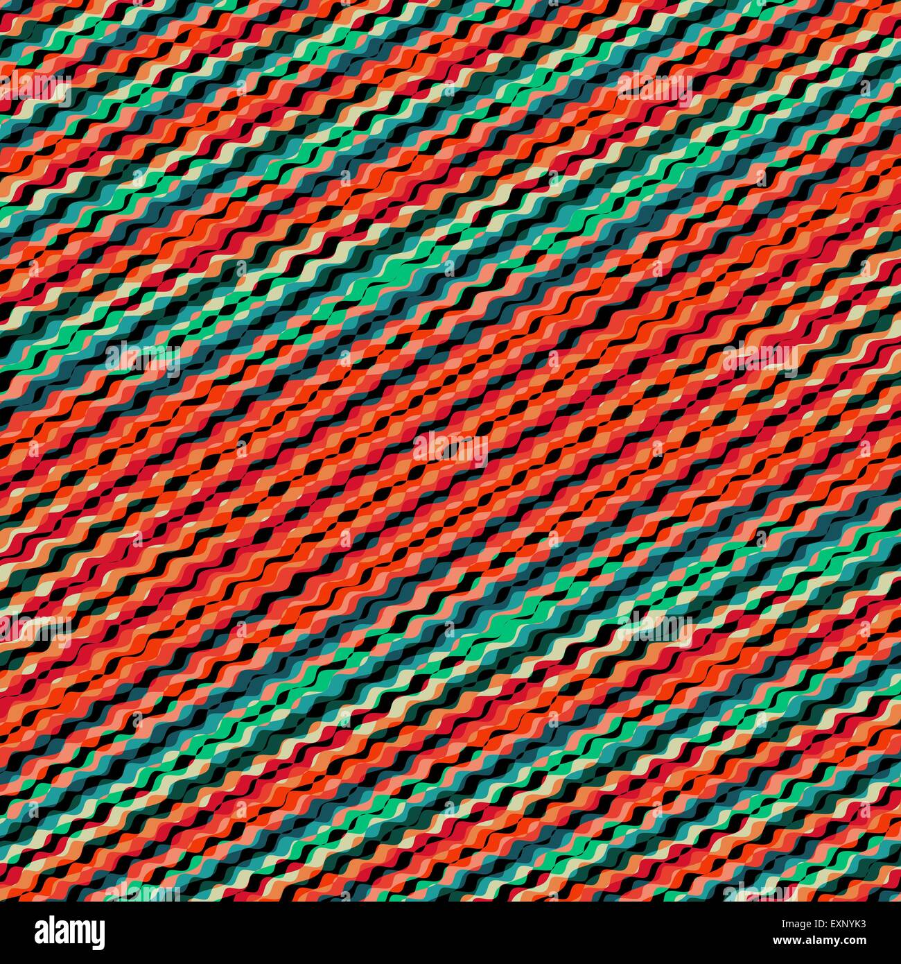 wavy volume background pattern