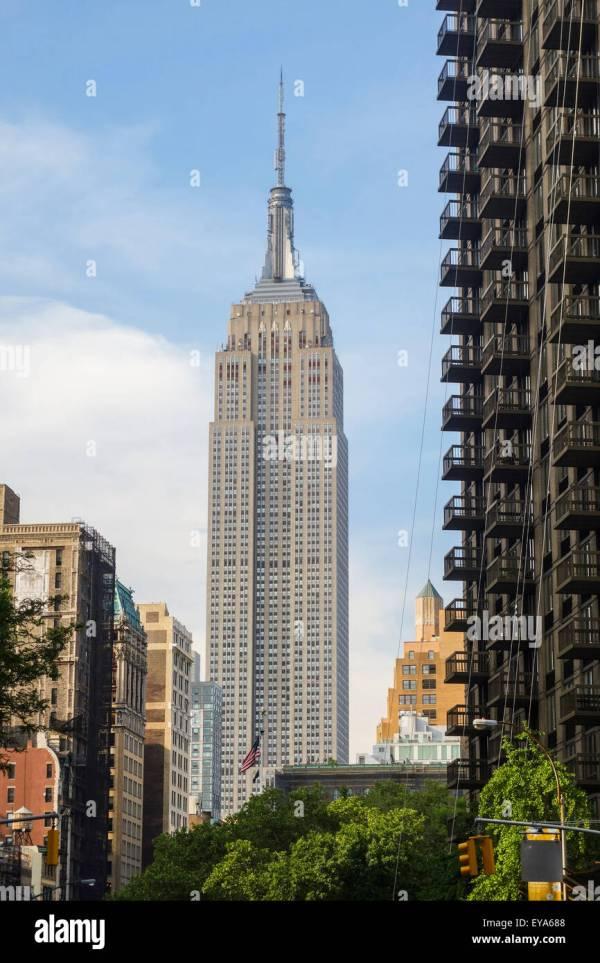 Empire State Building Interior Stock & - Alamy