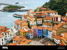Cudillero village. Asturias, Spain, Europe Stock Photo ...